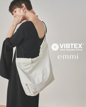 抗ウイルス素材を使用した「emmi×VIBTEX」コレクションが発売!
