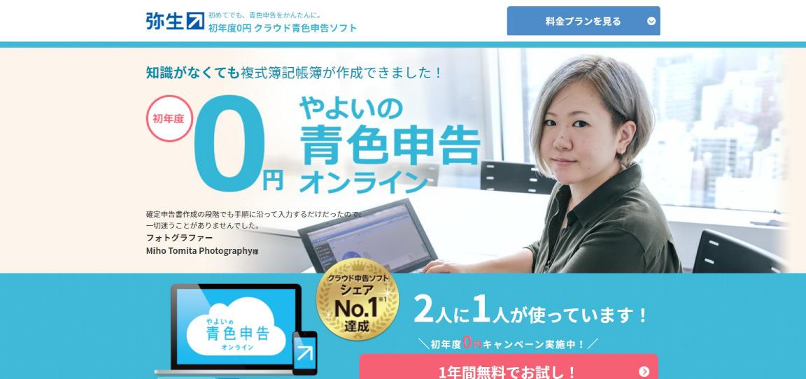 弥生の青色申告オンライン